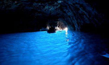 Blue Grotto Cave Capri Italy