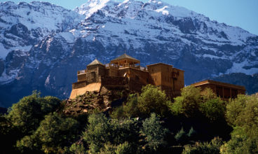 Ecotourism in the Atlas mountains of Morocco