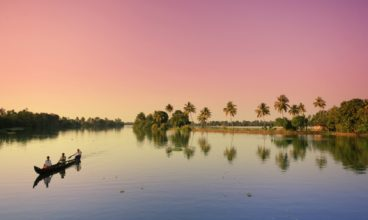 Ecotourism in Kerala backwaters