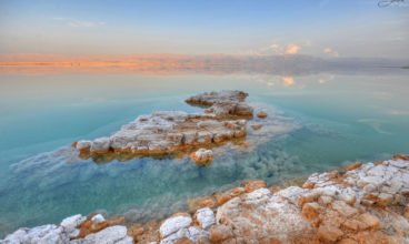The Beauty and Stillness of Nature Along the Shores of the Dead Sea and the Surrounding Deserts